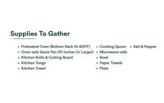 Roasted Bistro Filet Supplies