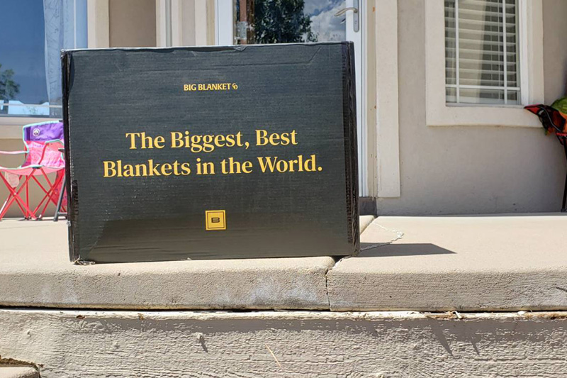 Big Blanket Co Review - Box
