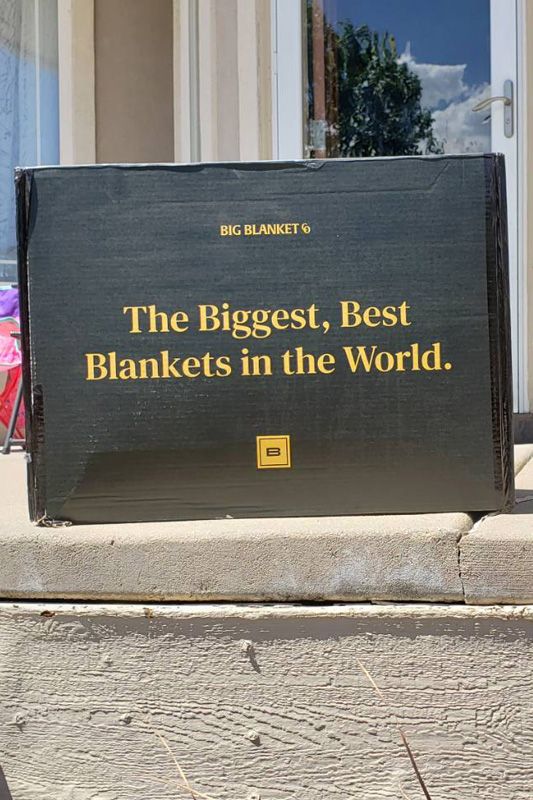 big-blanket-co-review-delivery