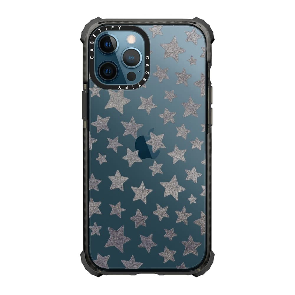 casetify-silver-stars-case