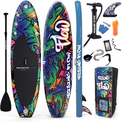 serenelife-inflatable-stand-up-paddleboard-graffiti